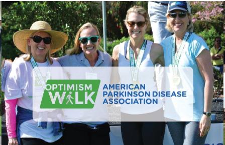 We're sponsoring the APDA Optimism Walk